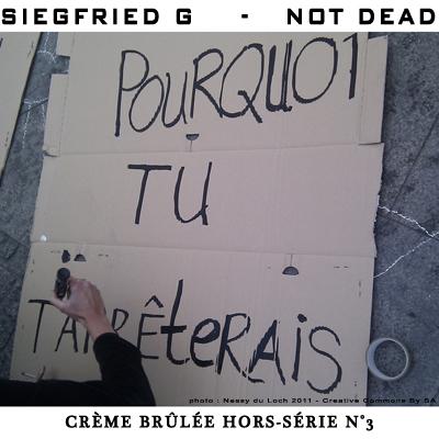 Not Dead (Crème Brûlée Hors-série n°3)